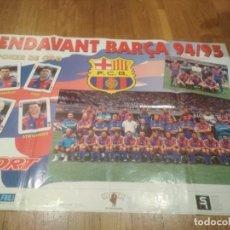 Coleccionismo deportivo: POSTER BARCELONA 94/95 SPORT 60X80. Lote 140815478