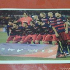 Coleccionismo deportivo: FOTO - CARTEL DEL F.C.BARCELONA, 45 CM X 32 CM. Lote 141611638