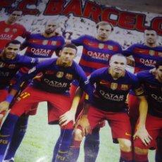 Coleccionismo deportivo: POSTER DEL BARCELONA FUTBOL. Lote 142826422