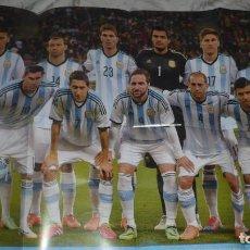 Coleccionismo deportivo: POSTER SELECCIÓN ARGENTINA BRASIL 2014 (EL GRÁFICO MAYO 2014). Lote 143187366