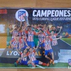 Coleccionismo deportivo: POSTER DE ATLETI-41X60-BUEN ESTADO. Lote 143196830