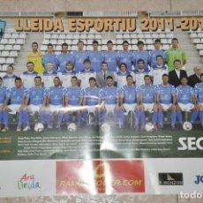 Coleccionismo deportivo: POSTER LLEIDA ESPORTIU 2011/2012, LERIDA. Lote 143439982