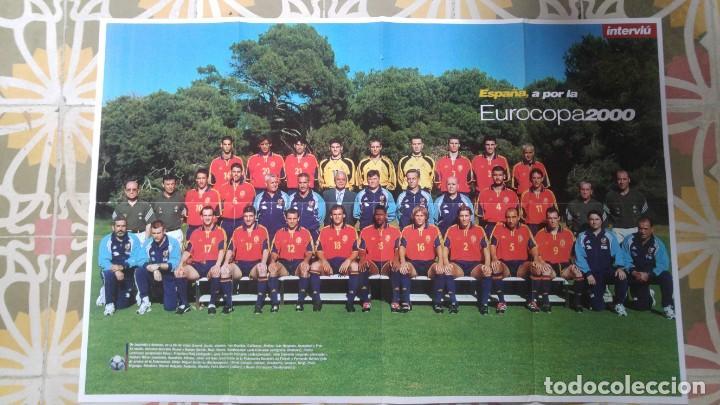 POSTER SELECCION ESPAÑOLA EUROCOPA AÑO 2000 CAMACHO (Coleccionismo Deportivo - Carteles de Fútbol)
