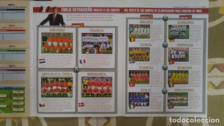 Coleccionismo deportivo: POSTER SELECCION ESPAÑOLA EUROCOPA AÑO 2000 CAMACHO - Foto 6 - 143871822