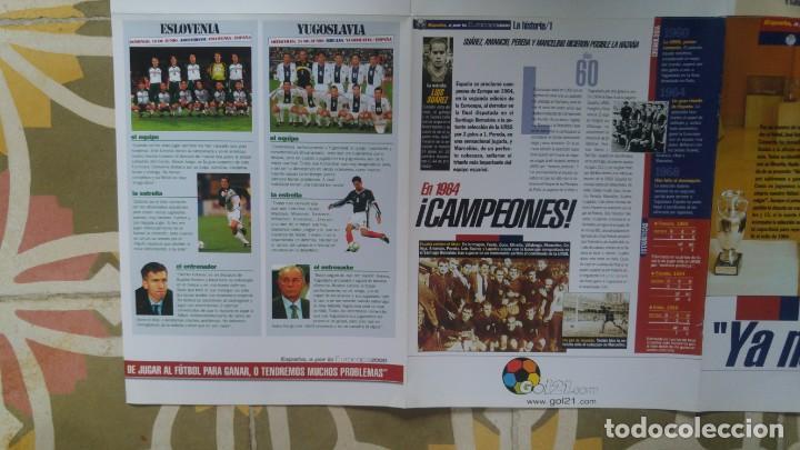 Coleccionismo deportivo: POSTER SELECCION ESPAÑOLA EUROCOPA AÑO 2000 CAMACHO - Foto 7 - 143871822