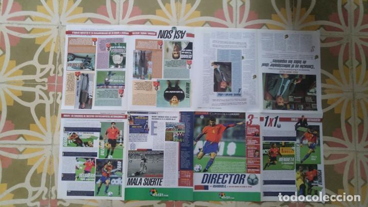Coleccionismo deportivo: POSTER EUROCOPA 2000 ESTRELLAS DE LA SELECCION PEP GUARDIOLA GAIZKCA MENDIETA FRAN JAVIER GONZALEZ - Foto 2 - 143872878