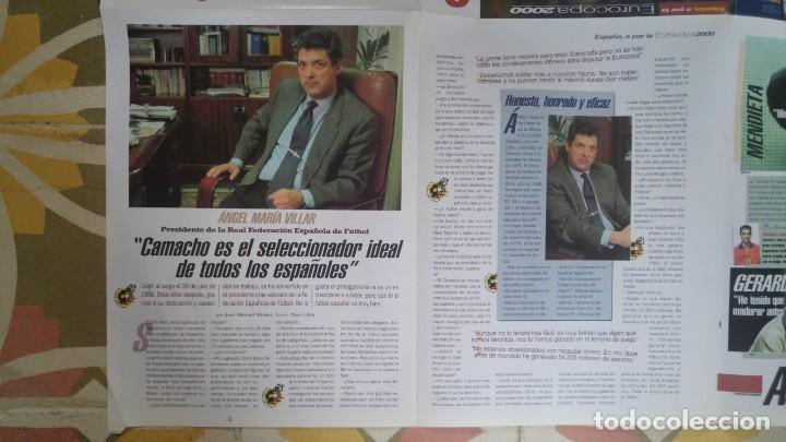 Coleccionismo deportivo: POSTER EUROCOPA 2000 ESTRELLAS DE LA SELECCION PEP GUARDIOLA GAIZKCA MENDIETA FRAN JAVIER GONZALEZ - Foto 5 - 143872878