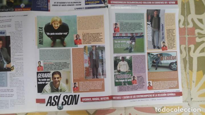 Coleccionismo deportivo: POSTER EUROCOPA 2000 ESTRELLAS DE LA SELECCION PEP GUARDIOLA GAIZKCA MENDIETA FRAN JAVIER GONZALEZ - Foto 6 - 143872878