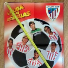 Coleccionismo deportivo: POSTER GOLOSINAS VIDAL ATHLETIC BILBAO TEMPORADA 1996-97 CHICLES. Lote 143932642