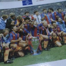 Coleccionismo deportivo: LÁMINA FC BARCELONA FUTBOL. Lote 143937810
