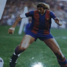 Coleccionismo deportivo: LÁMINA FC BARCELONA FUTBOL. Lote 143937978