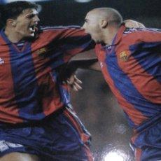 Coleccionismo deportivo: LÁMINA FC BARCELONA FUTBOL. Lote 143938074