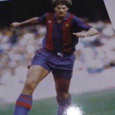 Coleccionismo deportivo: LÁMINA FC BARCELONA FUTBOL. Lote 143938110