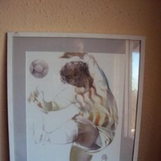 Coleccionismo deportivo: (F-181289)LITOGRAFIA DE FUTBOLISTA DE JORDI ALUMA. Lote 143978234