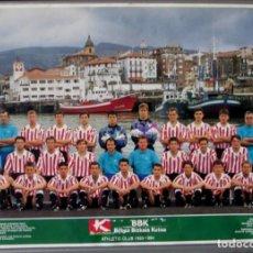 Coleccionismo deportivo: ATHLETIC CLUB 1993 – 1994 // POSTER - CARTEL. Lote 144142858