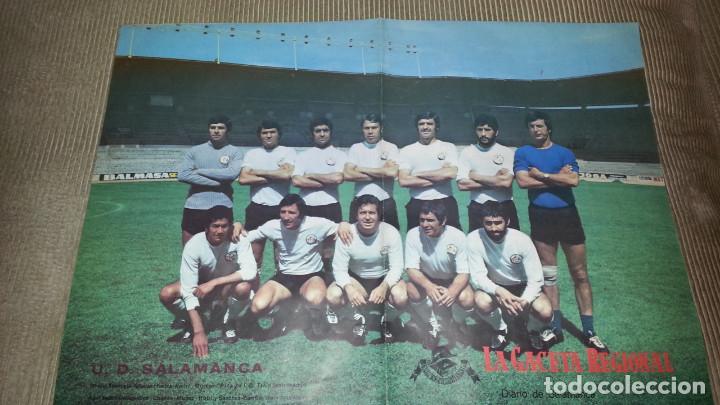 EXCEPCIONAL POSTER DE LA UNION DEPORTIVA SALAMANCA (Coleccionismo Deportivo - Carteles de Fútbol)