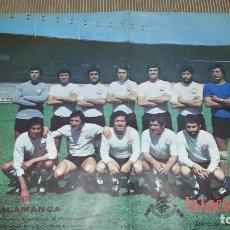 Coleccionismo deportivo: EXCEPCIONAL POSTER DE LA UNION DEPORTIVA SALAMANCA. Lote 144887758