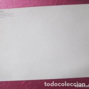 Coleccionismo deportivo: CARTEL REAL MADRID CON FIRMAS JUGADORES LIGA 84 85. - Foto 5 - 145934938