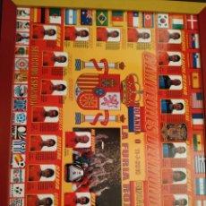 Coleccionismo deportivo: CUADRO DE CAMPEONES DEL MUNDO 2010. Lote 146002281