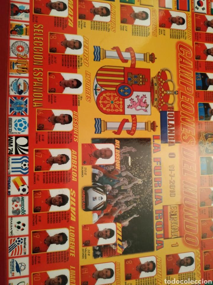 Coleccionismo deportivo: Cuadro de campeones del mundo 2010 - Foto 2 - 146002281
