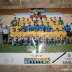 Coleccionismo deportivo: POSTER CADIZ C.F. 2000/2001 LIGUILLA ASCENSO TEMPORADA 2000/01 - LAMINA CARTEL CADIZ CF. Lote 146137394