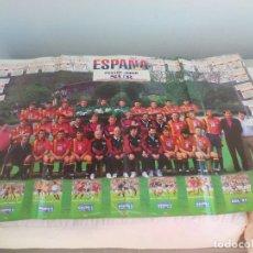 Coleccionismo deportivo: POSTER SELECCIÓN ESPAÑOLA DE FUTBOL. DIARIO SUR. MUNDIAL USA 94. JUEGO. Lote 147099338