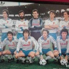 Coleccionismo deportivo: POSTER REAL ZARAGOZA 83/84 . Lote 148064930
