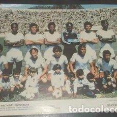 Colecionismo desportivo: PÓSTER DE LA SELECCIÓN NACIONAL HONDUREÑA, DEL DIARIO DE CÁDIZ. Lote 149620502