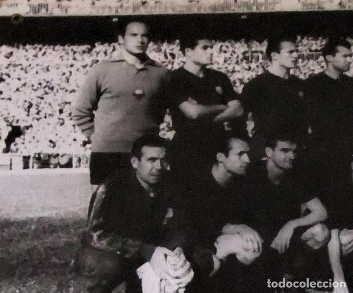 Coleccionismo deportivo: ÚNICO ANTIGUO CARTEL DE SALA DE CINE PELICULA NODO 114 GOLES IMAGEN FC BARCELONA 1958-59 - Foto 3 - 151650990