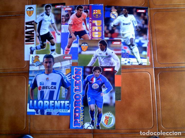 CARTELES DE LA REVISTA JUGON VARIOS EQUIPOS VER FOTOS EXTRAS (Coleccionismo Deportivo - Carteles de Fútbol)
