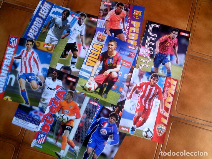 Coleccionismo deportivo: CARTELES DE LA REVISTA JUGON VARIOS EQUIPOS VER FOTOS EXTRAS - Foto 2 - 152869682