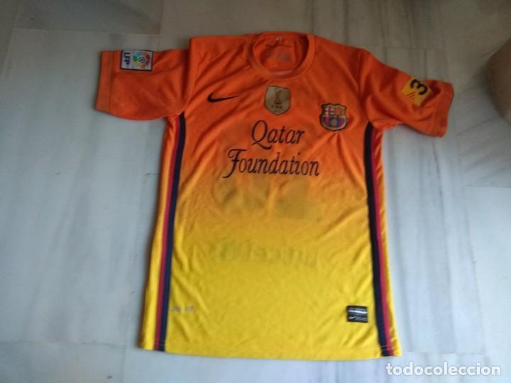CAMISETA Y PANTALON MESSI BARCELONA TALLA 16 (Coleccionismo Deportivo - Carteles de Fútbol)