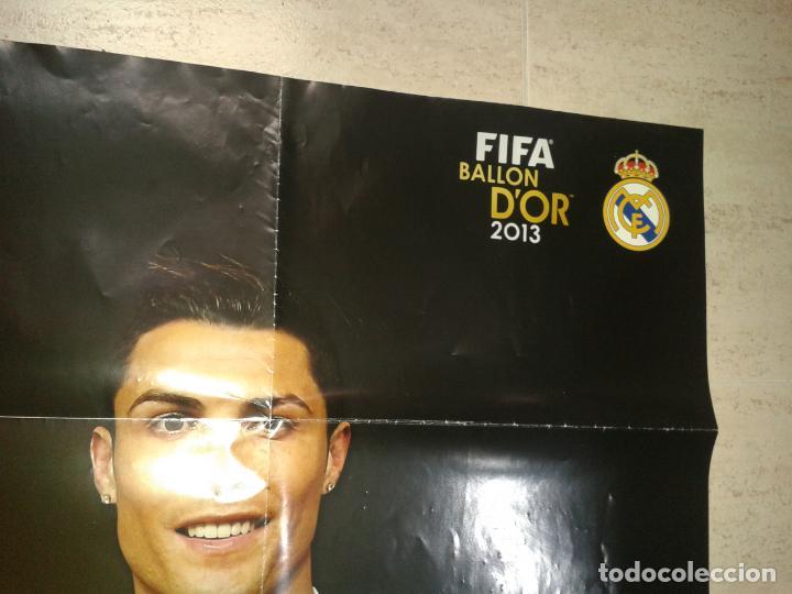 Coleccionismo deportivo: POSTER DE RONALDO BALON DE ORO 2013 - Foto 2 - 155380070