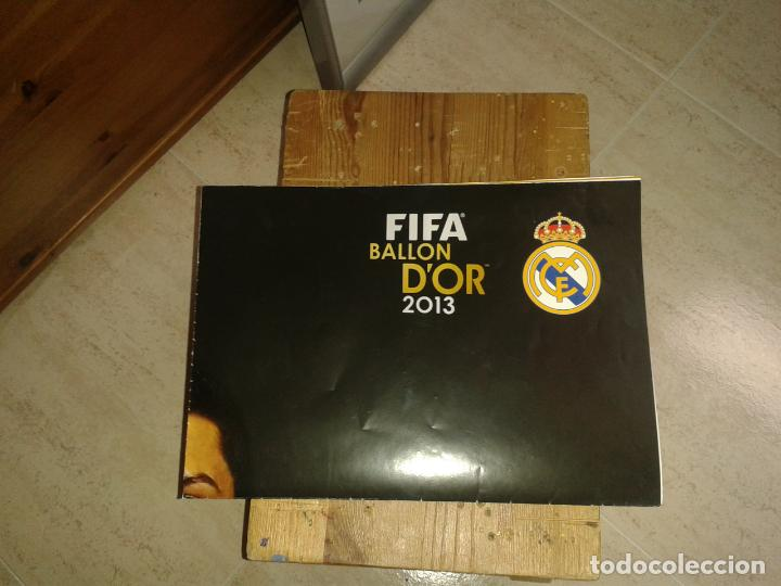 Coleccionismo deportivo: POSTER DE RONALDO BALON DE ORO 2013 - Foto 3 - 155380070