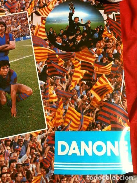 Coleccionismo deportivo: BARÇA - POSTER OFICIAL PLANTILLA F.C. BARCELONA CAMPIONS RECOPA BASILEA 78/79 Estrella Dorada Danone - Foto 4 - 155526874