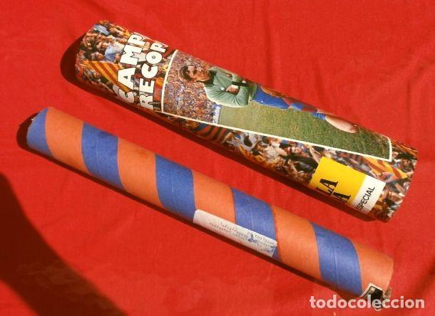 Coleccionismo deportivo: BARÇA - POSTER OFICIAL PLANTILLA F.C. BARCELONA CAMPIONS RECOPA BASILEA 78/79 Estrella Dorada Danone - Foto 5 - 155526874