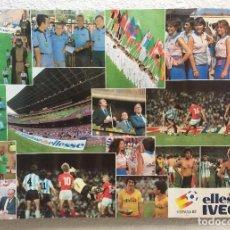 Coleccionismo deportivo: CARTEL POSTER MUNDIAL ESPAÑA 82 PUBLICIDAD ELLESSE IVECO. Lote 155556694
