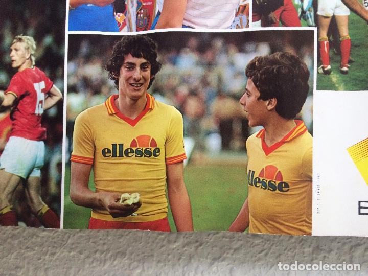 Coleccionismo deportivo: Cartel poster MUNDIAL ESPAÑA 82 publicidad ELLESSE IVECO - Foto 4 - 155556694