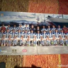 Coleccionismo deportivo: REAL SOCIEDAD PÓSTER OFICIAL 2014-2015 . Lote 155914778