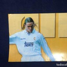 Coleccionismo deportivo: CARTEL MARCA FERNANDO REDONDO REAL MADRID 6 TEMPORADA 96 97 BUEN ESTADO. Lote 156766174