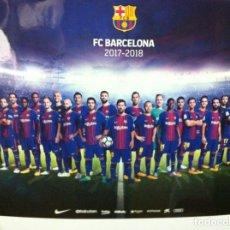Coleccionismo deportivo: POSTER BARCELONA FC - SATINADO - MIDE 60X42 CM. . Lote 156840230