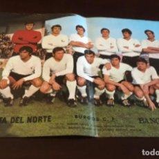 Coleccionismo deportivo: ANTIGUO PÓSTER BURGOS. Lote 157962918