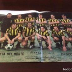 Coleccionismo deportivo: ANTIGUO PÓSTER BARAKALDO. Lote 157964090