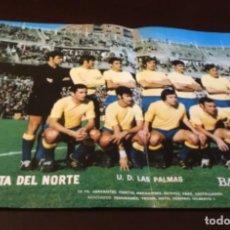 Coleccionismo deportivo: ANTIGUO PÓSTER LAS PALMAS. Lote 157964666