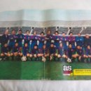 Coleccionismo deportivo: POSTER CENTRAL DE LA REVISTA AS COLOR. BARCELONA ATLETICO 1973-74. FUTBOL. Nº 164. Lote 158614298