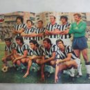 Coleccionismo deportivo: POSTER CENTRAL DE LA REVISTA AS COLOR. CLUB DEPORTIVO CASTELLON 1974-75. FUTBOL. Nº 196. Lote 158614502