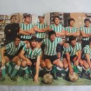 Coleccionismo deportivo: POSTER CENTRAL DE LA REVISTA AS COLOR. REAL BETIS BALOMPIE 1973-74. FUTBOL. Nº 140. Lote 158614762