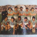 Coleccionismo deportivo: POSTER CENTRAL DE LA REVISTA AS COLOR. REAL BETIS BALOMPIE 1973-74. FUTBOL. Nº 158. Lote 158615030