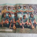 Coleccionismo deportivo: POSTER CENTRAL DE LA REVISTA AS COLOR. REAL BETIS BALOMPIE 1975-76. FUTBOL. Nº 225. Lote 158615282