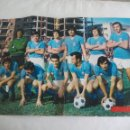 Coleccionismo deportivo: POSTER CENTRAL DE LA REVISTA AS COLOR. REAL OVIEDO 1973-74. FUTBOL. Nº 186. Lote 158616026